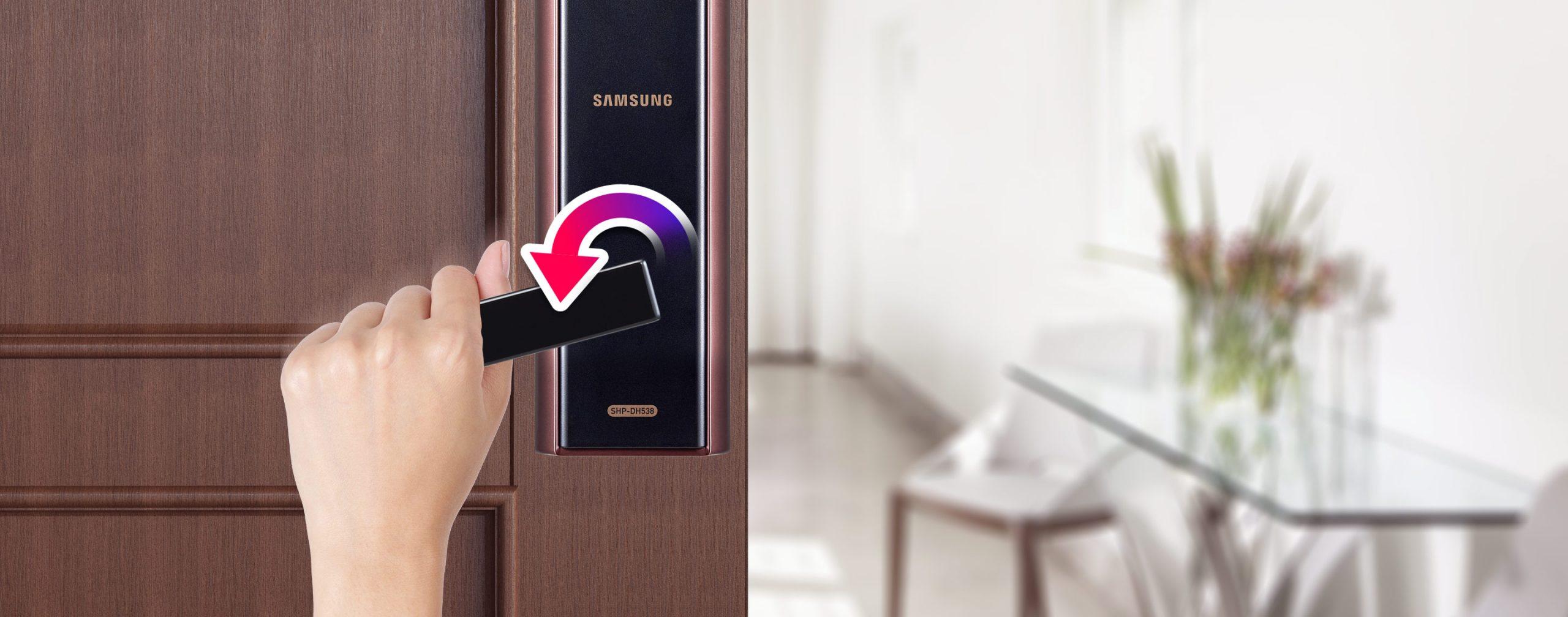 Khoá cửa điện tử Samsung SHP-DH538